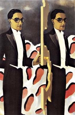 René Magritte - Ritratto di Paul Nougé, 1927