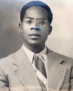 Aimé Cesaire da giovane