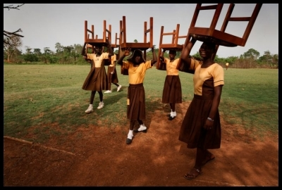 ghana schoolgirls, Randy Olson