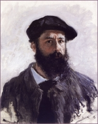 Claude Monet - Autoritratto
