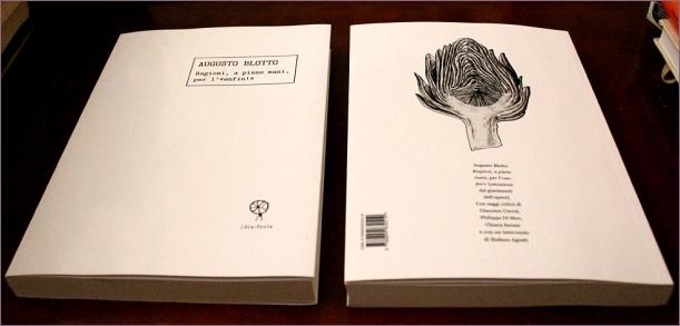 """Augusto Blotto, Ragioni, a piene mani, per l' """"enfin!"""" (fronte / retro)"""